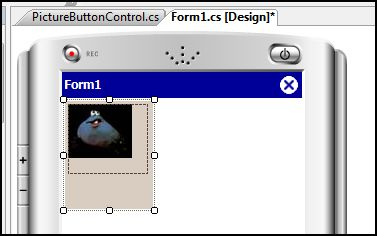 Showing first image on control